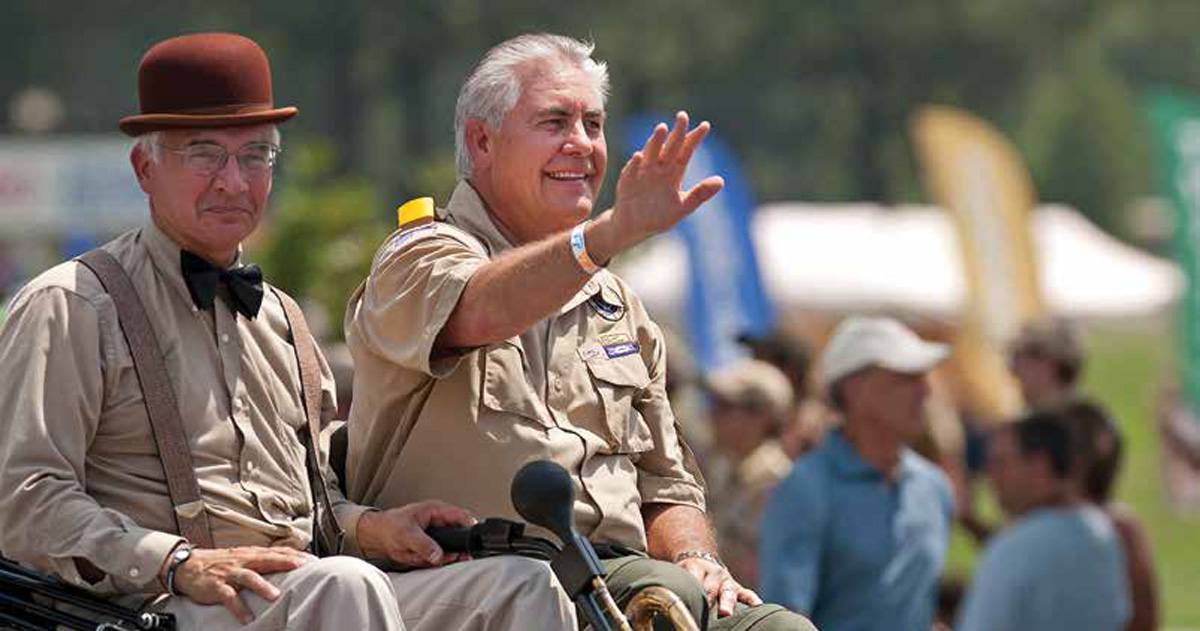 AMERICAN THINKER: Tillerson's Assault on Scouting