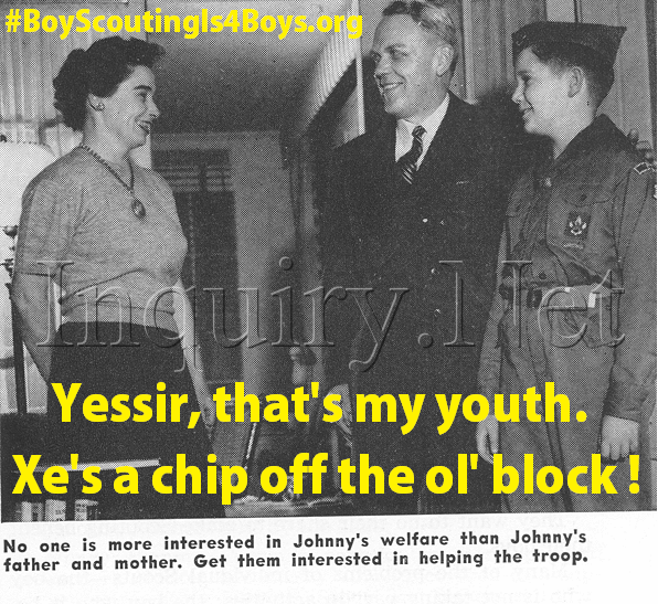 "BSA Inc Political Jargon: What the hell is ""youth"" ? ? ?"