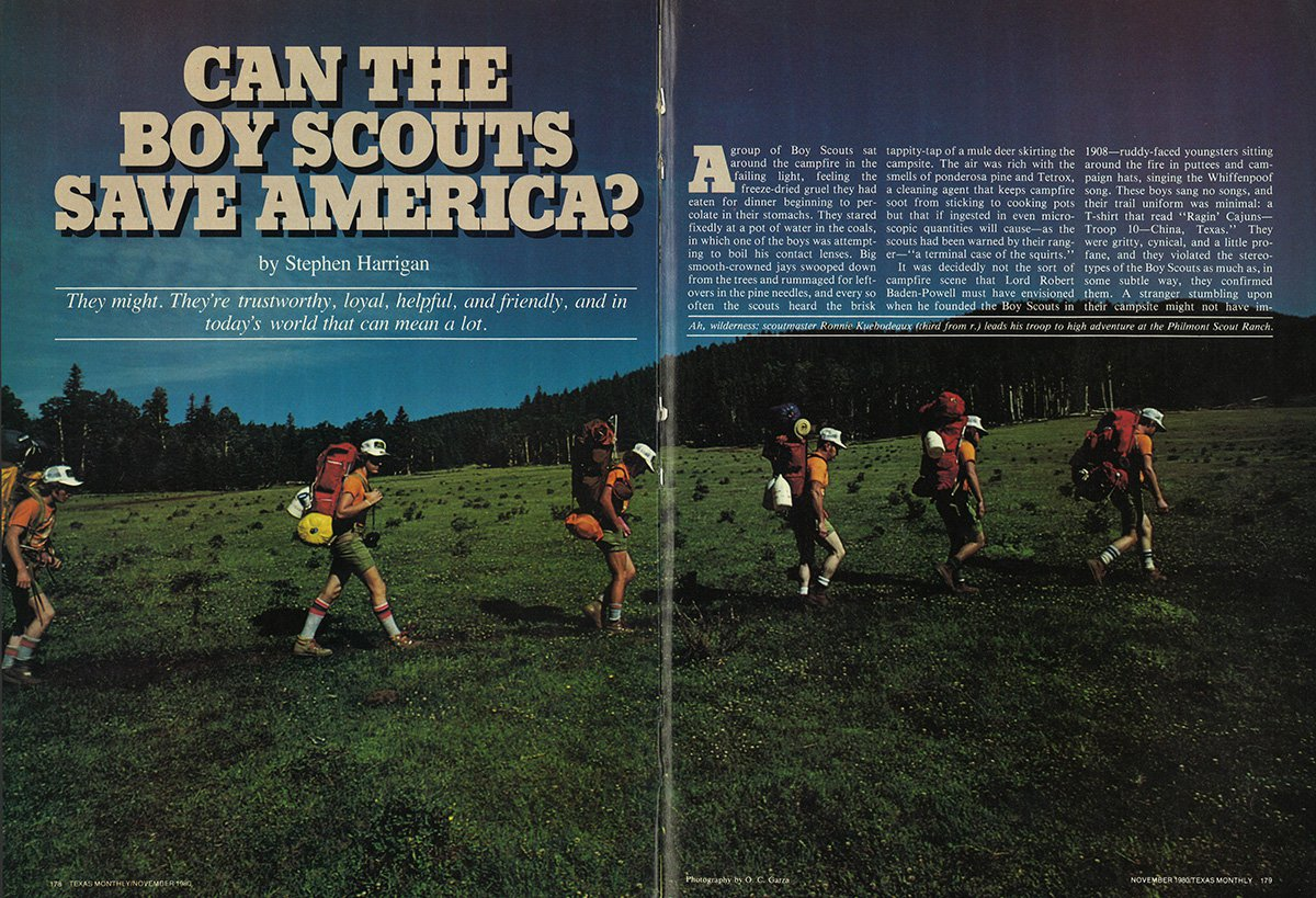 1980: Can the Boy Scouts Save America? – Texas Monthly