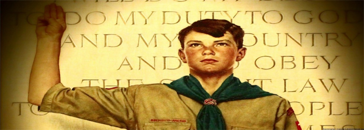 Traditional boy scout law