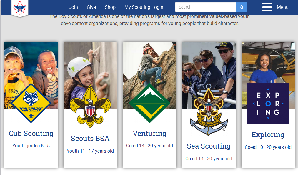 No boys boy scouts april 23 2019 2