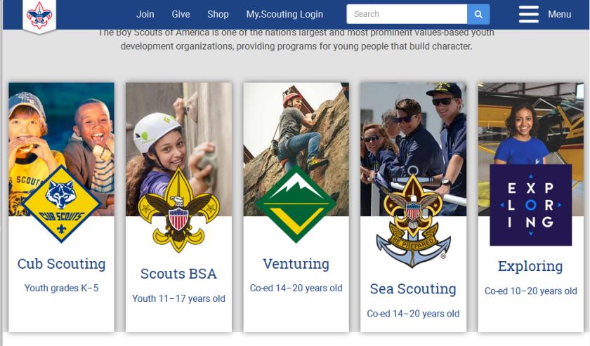 No boys boy scouts april 23 2019 2